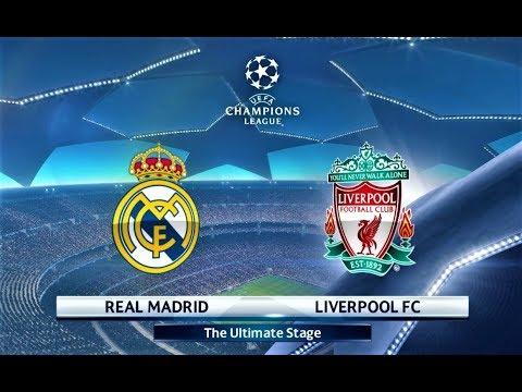 Real Madrid vs Liverpool † UEFA Champions League 2018 † PES 2018 Gameplay HD