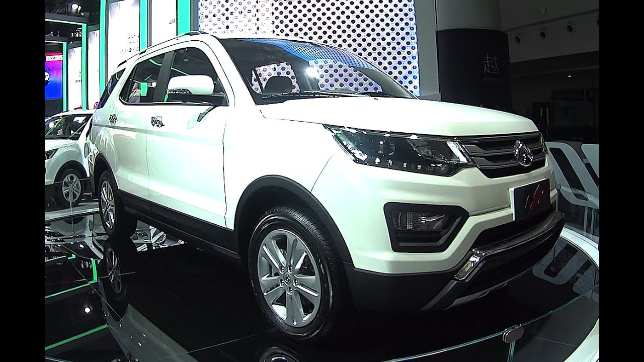 Large Chinese SUVs 2016, 2017 Changan CX70 SUV Unveiled In