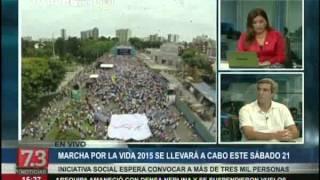 La Marcha por la Vida en TV Perú