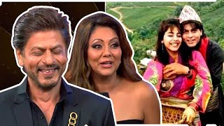 Shah Rukh Khan reveals how he pranked wife Gauri on their honeymoon