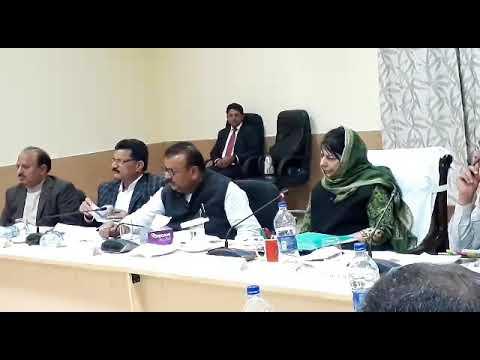 Mehbooba Mufti visits Samba, Jammu