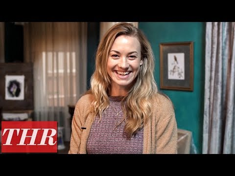 On The Set Of 'The Handmaid's Tale' With Yvonne Strahovski A.k.a. Serena Joy | THR