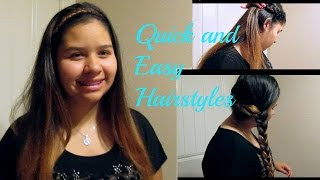 Quick and Easy Back to School Hairstyles Thumbnail