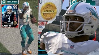 MUT 17 - 99 Speed John Ross 99 Cam Newton Gameplay! Madden 17 Ultimate Team