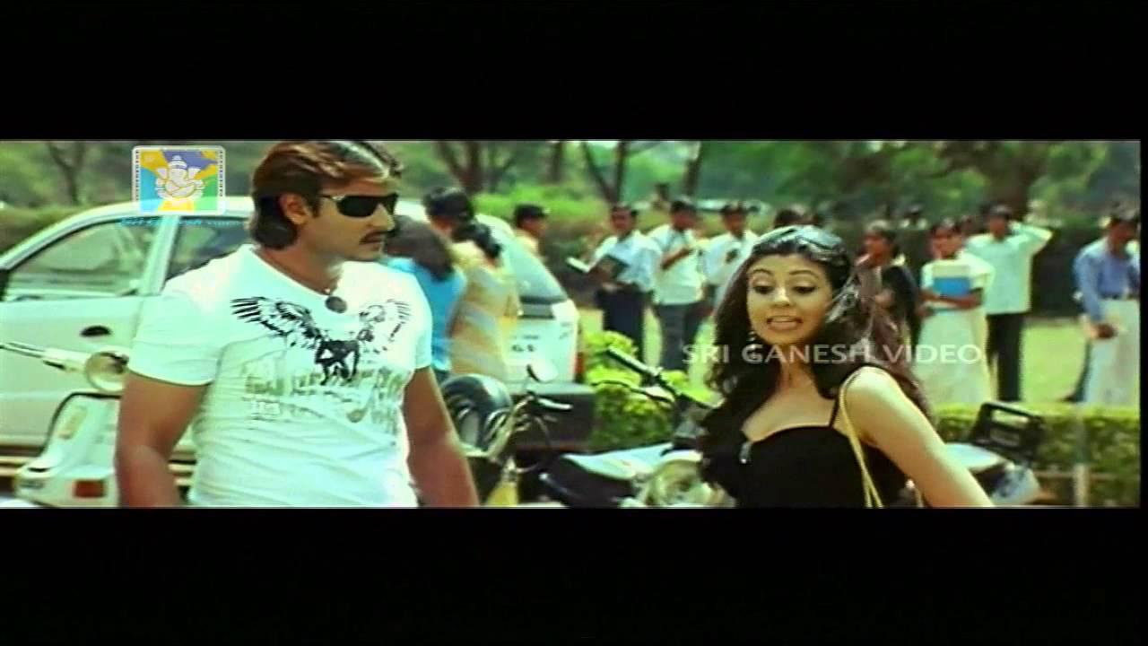 challenging star darshans kannada comedy scenes gaja