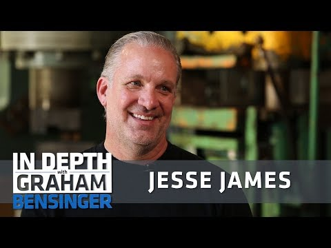 Discovery Channel joke: Jesse James is bigger than Jesus
