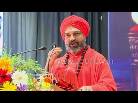 Nijagunananda swamiji speech in Karnataka university Dharwad