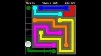 Flow Free 8x8 Level 20 walkthrough Bonus Pack