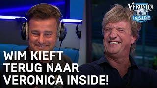 Zo reageert Wim Kieft op zijn terugkeer bij Veronica Inside