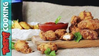 KFC Chicken Popcorn Recipe 🍿 HOW TO MAKE KFC Popcorn Chicken 🍿 Tasty Cooking