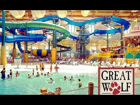 Great Wolf Lodge Fitchburg MA Day 1 with Ke & Lo