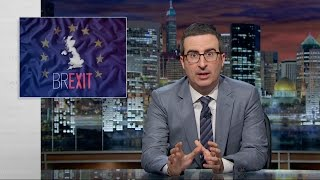 Brexit: Last Week Tonight with John Oliver (HBO)(Britain could soon vote to leave the European Union. John Oliver enlists a barbershop quartet to propose a smarter option. Connect with Last Week Tonight ..., 2016-06-20T06:30:00.000Z)