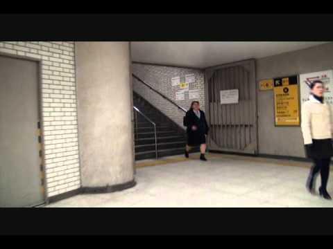 From Central Exit of JR Shin Osaka Stn to EXIT 6, near Subway Shin Osaka Stn