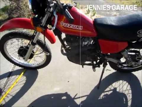 1981 Suzuki SP500 Street Legal Dirt Bike - Quick Ride & Walk Around