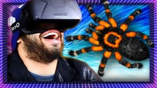 Covered In SPIDERS In Virtual Reality! | Oculus Rift DK2 | Arachnophobia