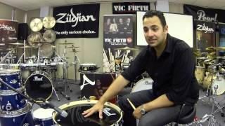 How to set up a Pearl Export Drumkit | Authentic Drummer | Adrian Violi