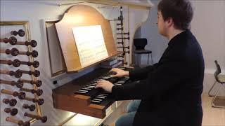 Wolfram Menschick: Toccata für Orgel