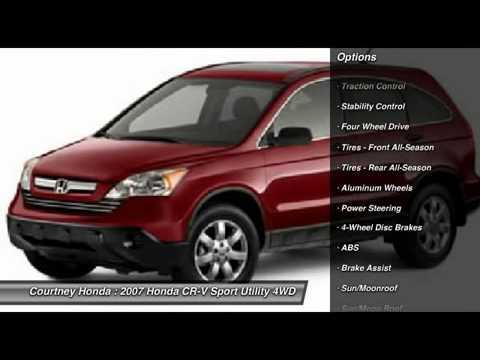 2007 honda cr v milford ct u5139 youtube for Honda milford ct
