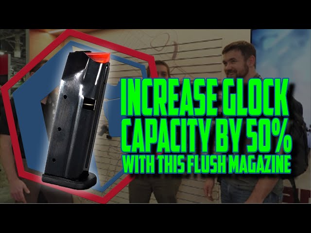 Increase Glock Capacity By 50% With This Flush Magazine – Shield Arms SR15
