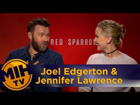 Red Sparrow Joel Edgerton & Jennifer Lawrence Interview