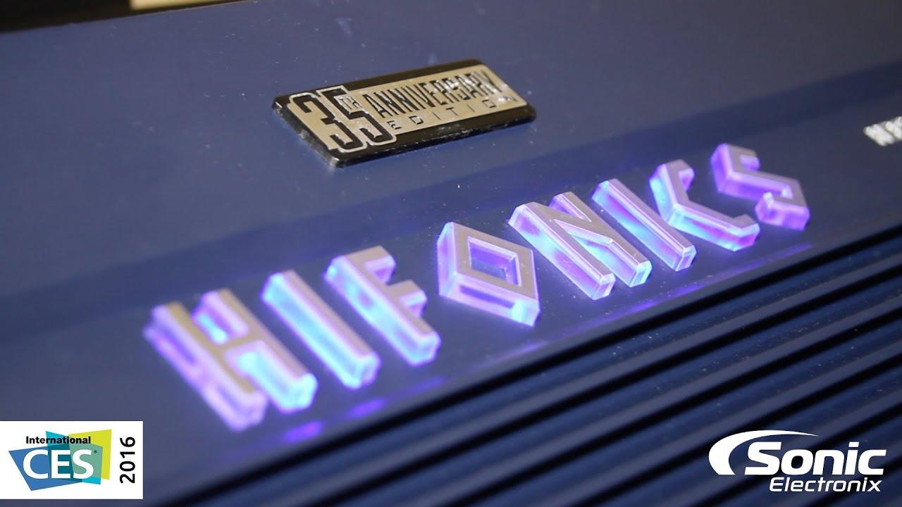 Hifonics 35th Anniversary Hercules Car Amplifiers Ces 2016 Youtube Wiring Diagram