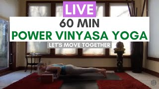 Power Vinyasa Yoga With Carrie Treister