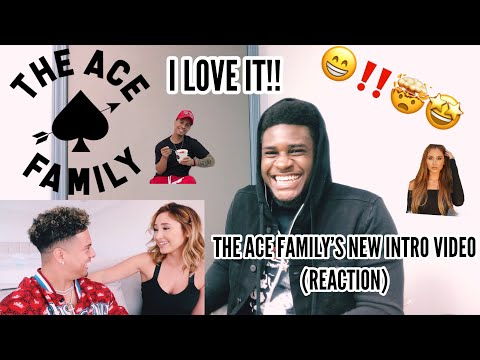 """I LOVE IT!! THE ACE FAMILY""""S NEW INTRO VIDEO (REACTION)"""
