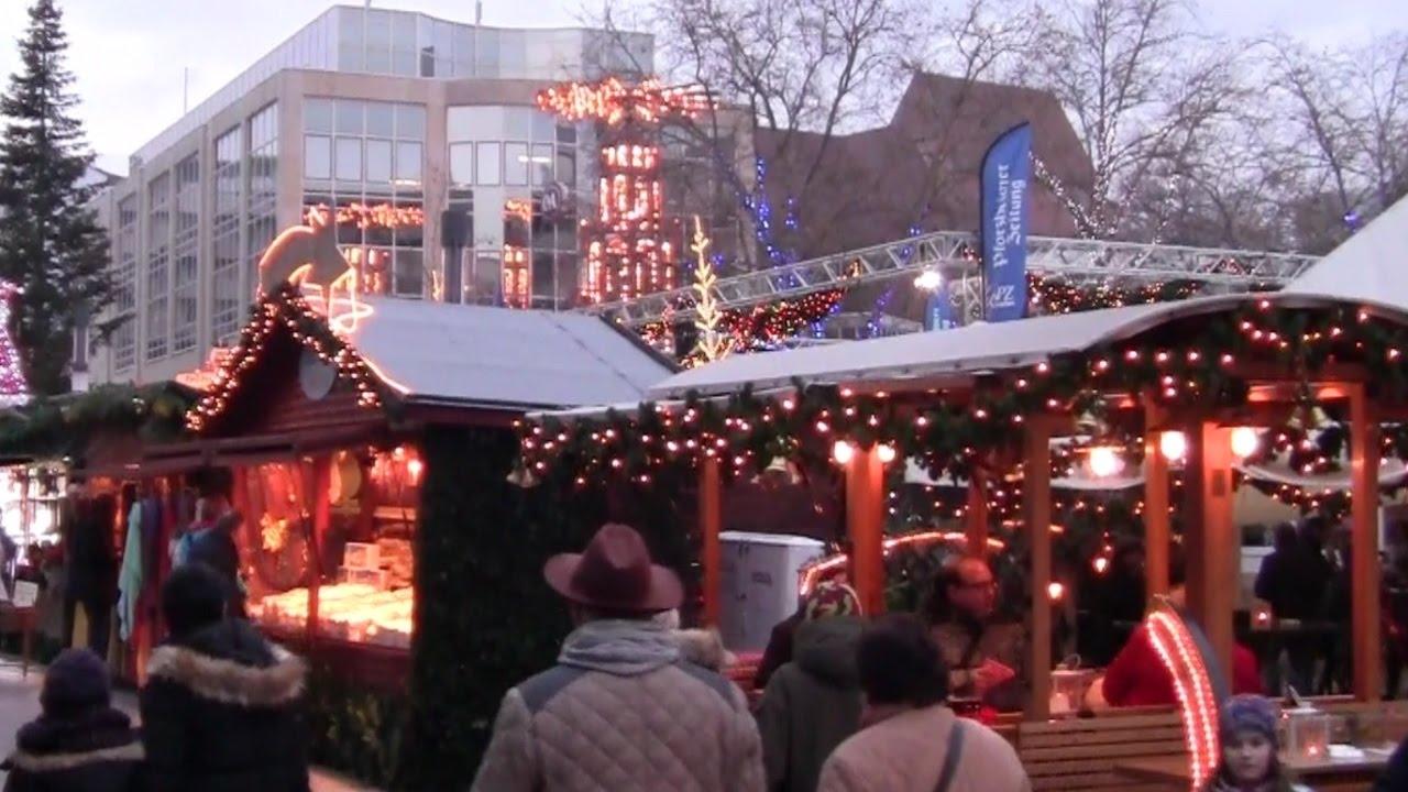 Pforzheimer Weihnachtsmarkt.Mittelaltermarkt Und Weihnachtsmarkt Pforzheim 2016