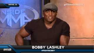 Bobby Lashley on His Future in Fighting and CM Punk on Inside MMA