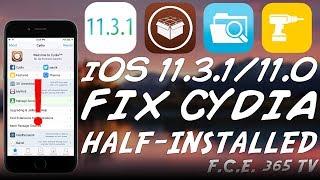 iOS 11.3.1/11.2 How to Fix CYDIA