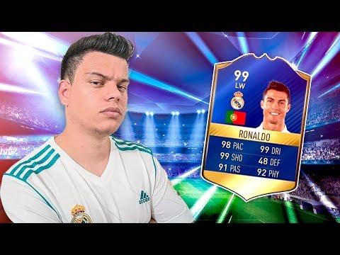 FIFA 18 - A CARTINHA MAIS FORTE DO JOGO ! - FUTDRAFT ‹ PORTUGAPC ›