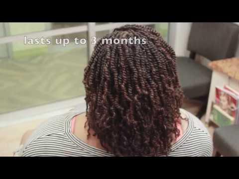 Technique Two Strand Twist Extensions How To Youtube