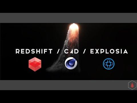 C4D Redshift/ Explosia