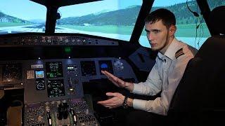 Системы управления самолетом на примере Airbus A320(Как разобраться в приборной панели пилота? О назначении загадочных клавиш, экранов и лампочек, а также о..., 2016-04-28T07:24:34.000Z)