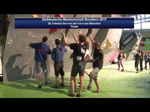 Süddeutsche Meisterschaft Bouldern 2017: Finale