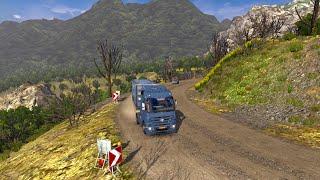 Euro Truck Simulator 2 - Mapa MMG : Estradas de terra e penhascos