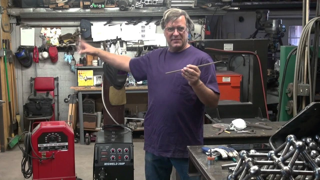 Mig Welding Vs Arc Which Welder When Kevin Caron Youtube Lincoln Wiring Diagram