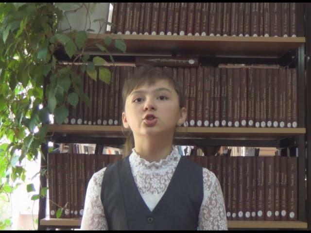 Изображение предпросмотра прочтения – АринаИвахина читает произведение «Весенний вечер» И.С.Тургенева