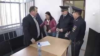 Оренбург. Александра Сало заключили под стражу в зале суда