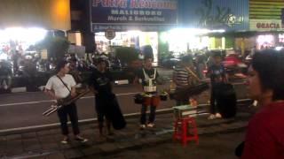 street musicians on Jalan Malioboro in Yogyakarta, Java, Indonesia - II