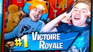 JE FAIS TOP 1 EN DUO IRL AVEC LEFOUBRUITEUR SUR FORTNITE BATTLE ROYALE !!!