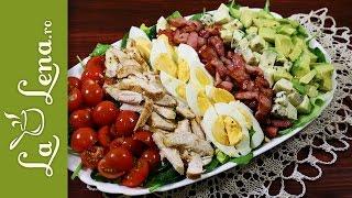 Salata Cobb - cea mai delicioasa reteta de salata cu pui!