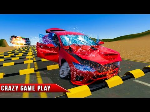 Speed Bump Crash Challenge 2019 - Bumps Speed Car Challenge - Android Gameplay HD | Skbd Gaming