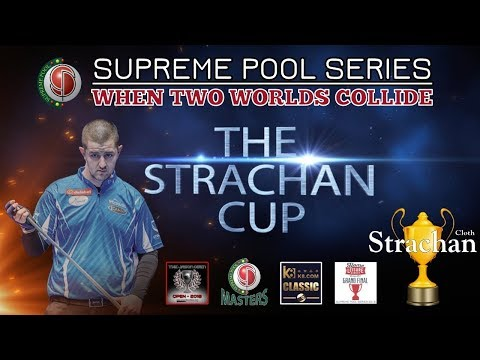 Karl O Donoghue vs Ronan McCarthy- Supreme Pool Series T 11 - The Strachan Cup