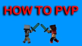 Someone is teaching me HOW TO PVP in minecraft