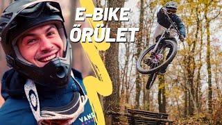 E-BIKE ŐRÜLET - Downhill Délután | Hegyről le & FEL száguldozás !!!