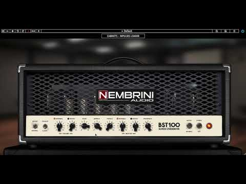Nembrini Audio BST100 - Soldano In A Plugin?