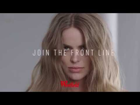 Westfield Spring Summer 2016/17 - The Front Line - Behind the Scenes with Robyn Lawley