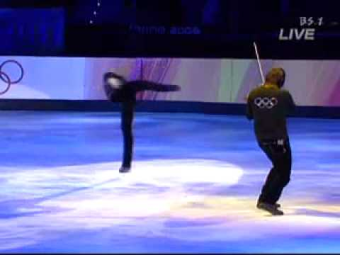 Evgeni Plushenko  - Torino Olympic Gala- Tosca fantasy by Edvin marton