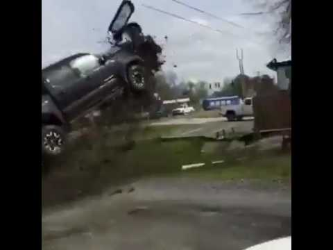 TRUCK FLIES OUT OF CONTROL (MUST WATCH) @LiLeFilms